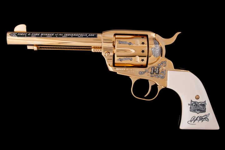 A.J. Foyt Official Commemorative Revolver