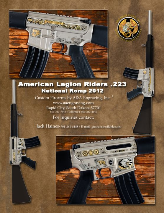 American Legion Riders National Romp DPMS .223 Caliber AR-15