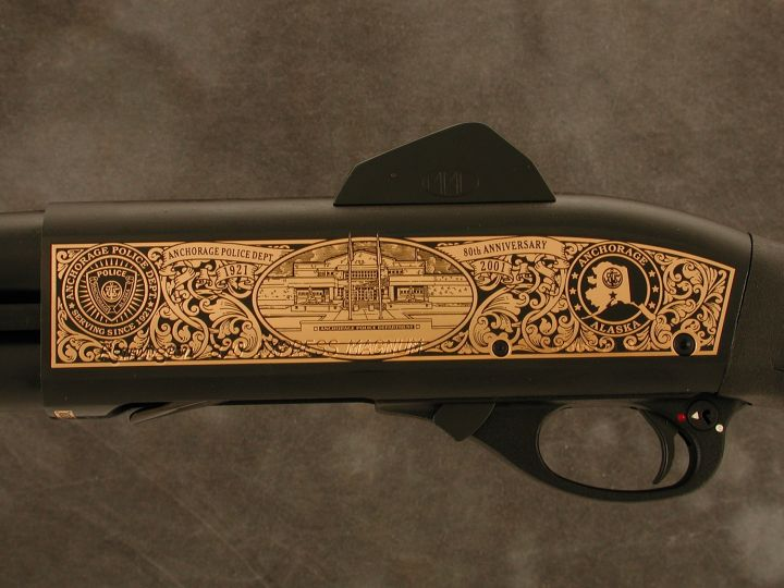 Anchorage PD 80th Anniversary Remington Shotgun