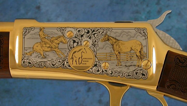 Appaloosa Horse Club Hartford 1892 Rifle