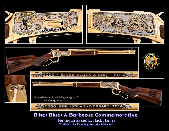 Bikes, Blues & BBQ 15th Anniversary Mossberg Rifle