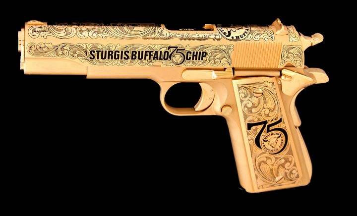 Buffalo Chip 75th Anniversary Commemorative NRA-ILA Pistol