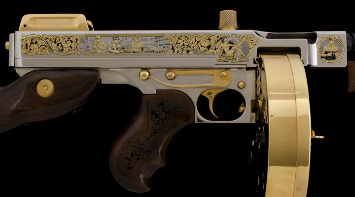 Custom 1920s Speakeasy-style Tommy Gun   Inventory   A&A