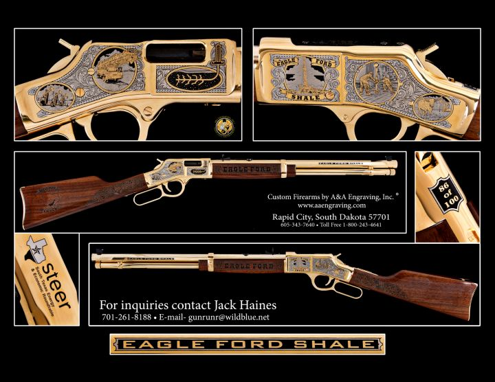 Eagle Ford Shale/STEER Henry Big Boy Rifle