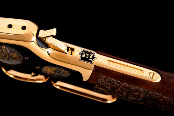 Eagle Ford Shale Steer Henry Big Boy Rifle Inventory A
