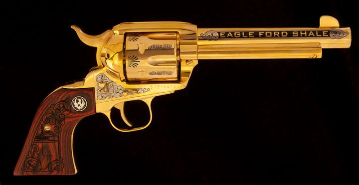 Eagle Ford Shale/STEER Ruger Vaquero .45 cal Revolver