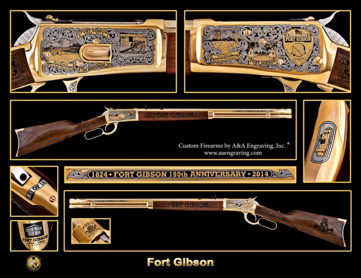 Fort Gibson, Oklahoma 190th Anniversary 1892 Rifle