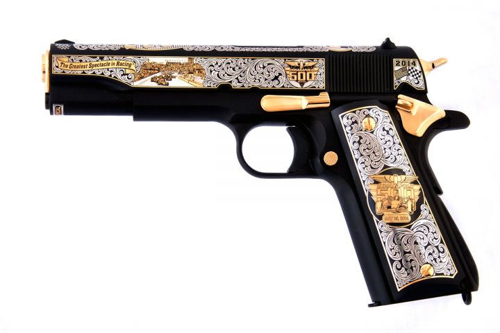 Grand Prix of Indianapolis Official 1911 Pistol