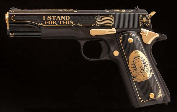 'I Stand' Indy 500 1911 Pistol