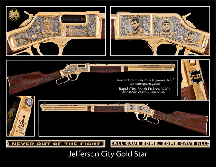 Jefferson City Gold Star Henry Big Boy Rifle