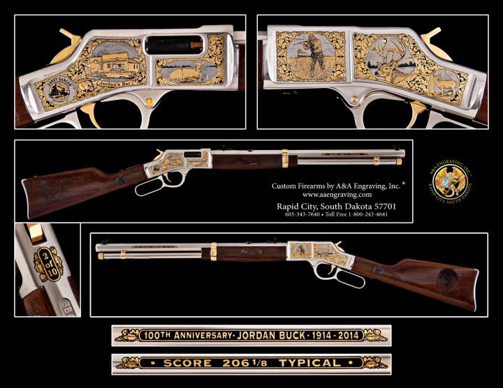 Jim Jordan Buck 100th Anniversary Henry Big Boy Rifle