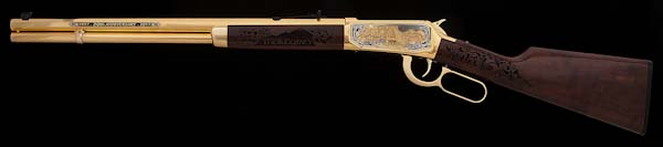 Journey Museum 20th Anniversary Winchester Rifle