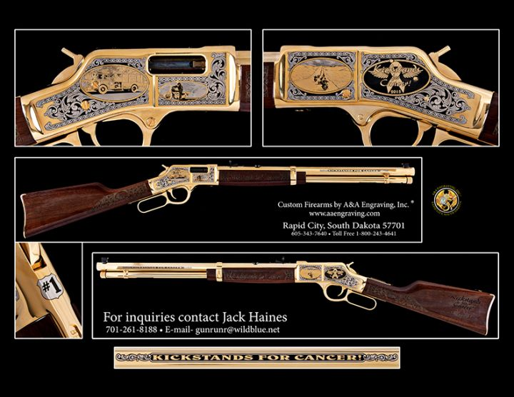 Kickstands for Cancer Henry Big Boy Rifle