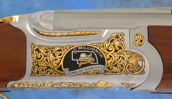 "Miller Beer ""1 Millionth Acre of Habitat"" PF Ruger Red Label Shotgun"