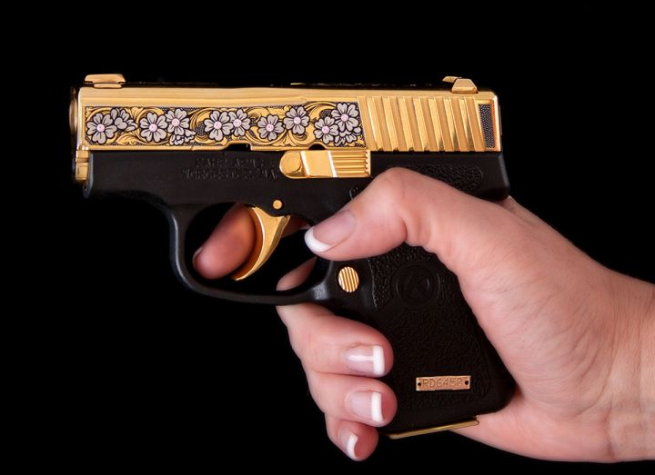 """Miss Bennett"" 2016 Series Gemstone P380 Pistol"