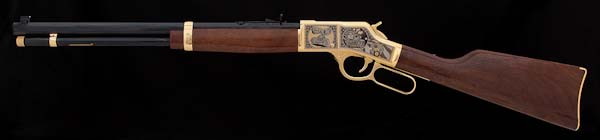 """Motor Marc"" Henry Big Boy Rifle"