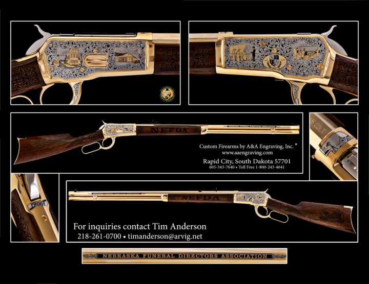 Nebraska Funeral Directors Association (NFDA) 1892 Rifle