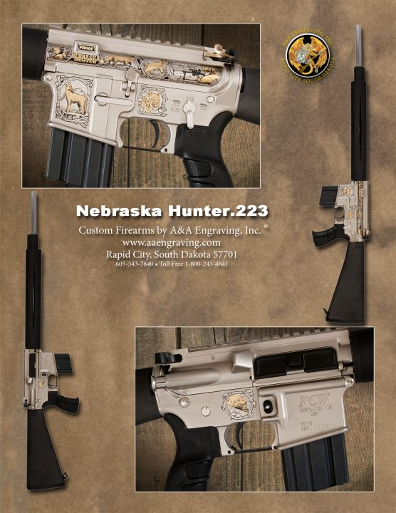 Nebraska Hunter FCW .223 Caliber AR-15