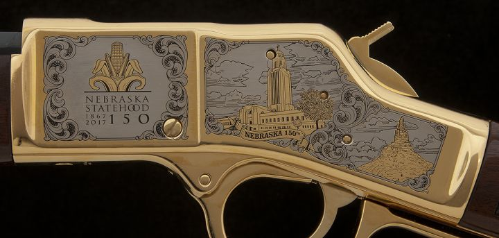 Nebraska Statehood 150th Anniversary Rifle