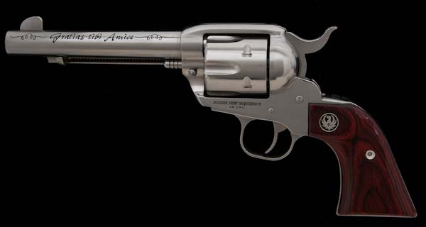 Nicky Groenewold Heritage Ruger Vaquero Revolver