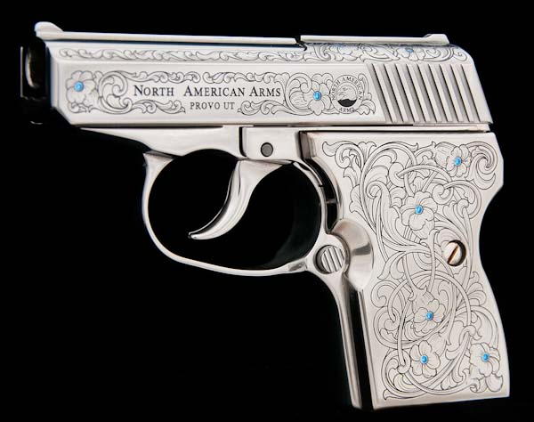 North American Jewel Stainless Steel P380 Pistol
