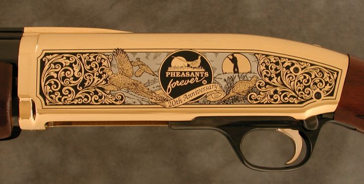 Pheasants Forever 20th Anniversary Browning BPS Shotgun