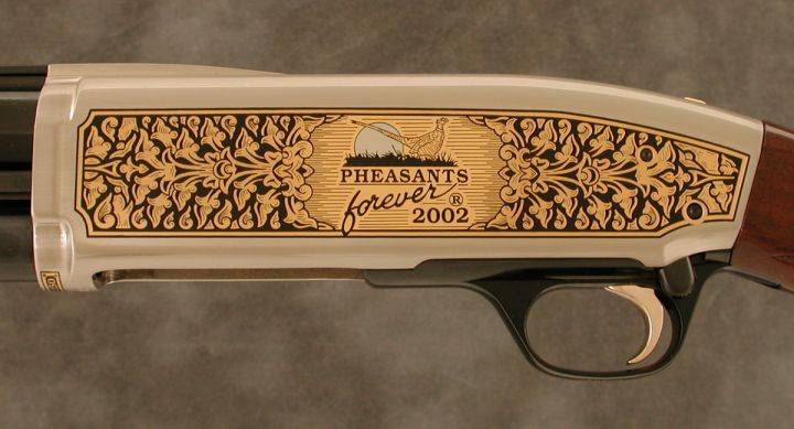 Pheasants Forever Official 2002 Browning BPS Chapter Gun