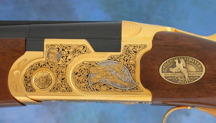 Pheasants Forever Official 2004 Beretta Onyx w/ Inlays