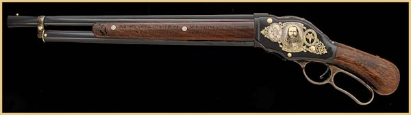 Porter Rockwell Tribute Rifle
