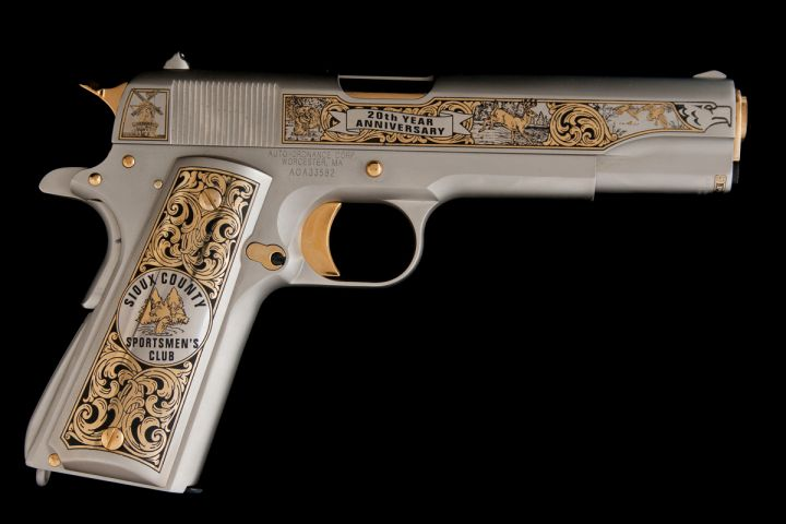 Sioux County Sportsmen's Club 20th Anniversary 1911 Pistol