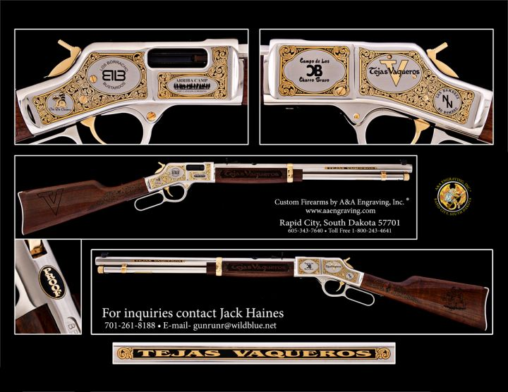 Tejas Vaqueros Henry Big Boy Rifle