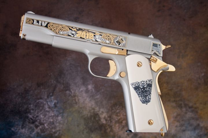 U S Air Force Academy Usaf Class Of 2012 1911 Pistol