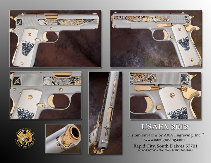 U.S. Air Force Academy (USAF) Class of 2012 1911 Pistol