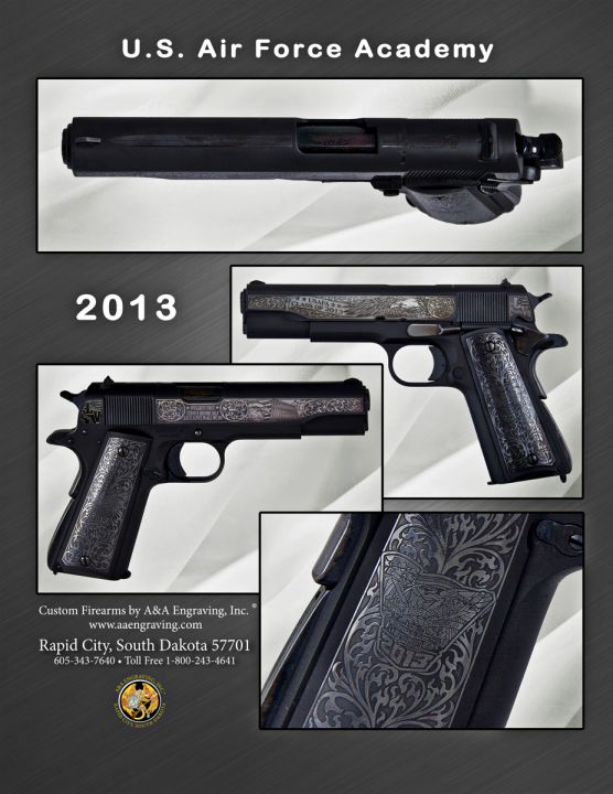 U.S. Air Force Academy (USAF) Class of 2013 1911 Pistol
