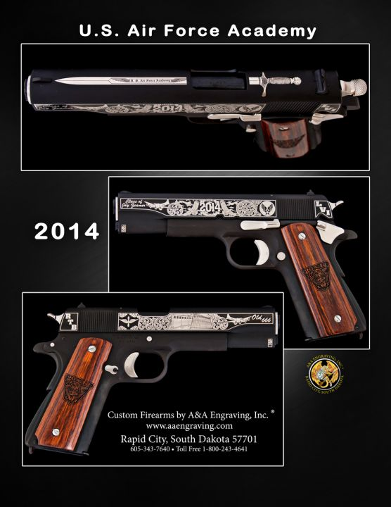 U.S. Air Force Academy (USAF) Class of 2014 1911 Pistol