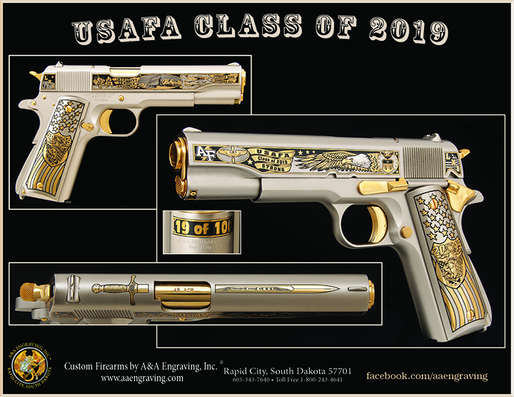 U.S. Air Force Academy (USAF) Class of 2019 1911 Pistol