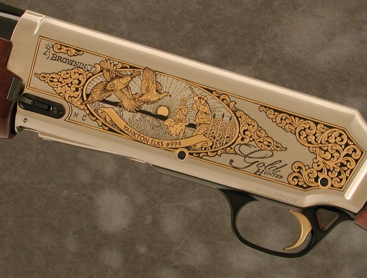 Yankton Elks Lodge #994 Browning Gold Hunter Shotgun